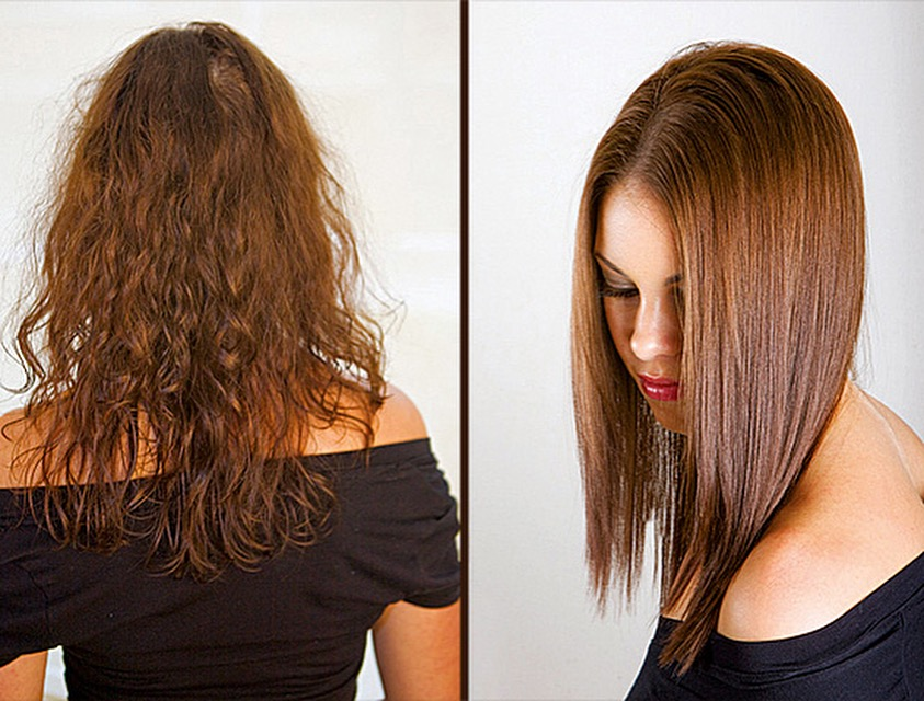 Как выпрямлять волосы с короткой стрижкой