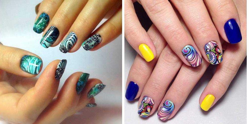 Ногти дизайн оригинальные