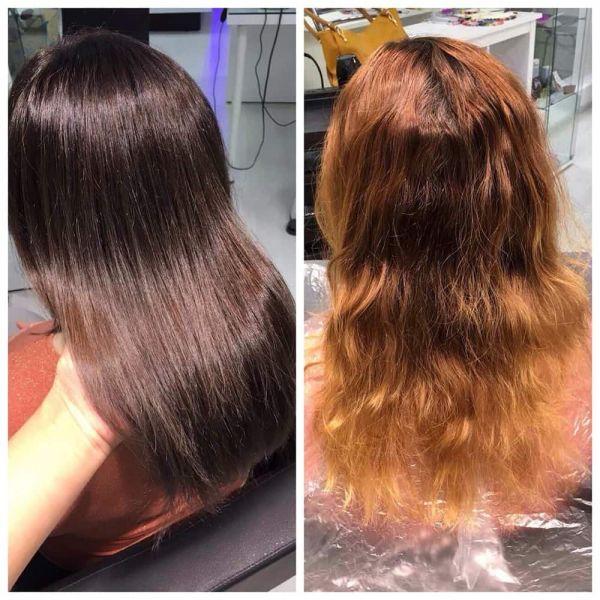 Окрашивание волос 2
