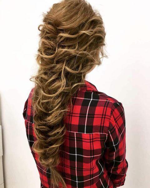 Коса сделана в студии Ирис Оренбург