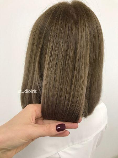 Восстановление цвета волос в салоне красоты Iris в Оренбурге