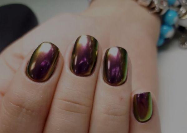 Дизайн жуки на ногтях салон красоты Ирис Оренбург