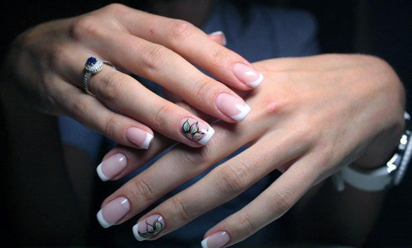 Наращивания ногтей плюсы
